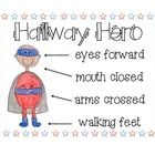 Mini poster ready for your superhero students! Encourage positive behavior in the hallways with this reminder. Available in Color or Black/White....