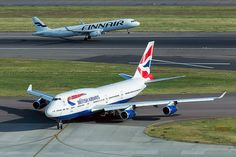 BA 747 and very new Finnair A321 by LHR Local, via Flickr