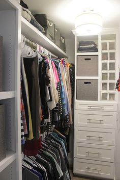 How to Build a Custom Closet System
