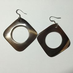 E0070A Nature Organic Buffalo Cow Horn Earring Handmade Craft Fashion Jewelry   eBay