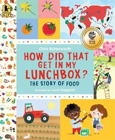 One of the best parts of a young child's day is opening a lunchbox and diving in. But how did that delicious food get there? From planting wheat to mixing dough, climbing trees to machine-squeezing fruit, picking cocoa pods to stirring a vat of melted bliss, here is a clear, engaging look at the steps involved in producing some common foods. Health tips and a peek at basic food groups complete the menu. 9780763665036 / 5-8 years