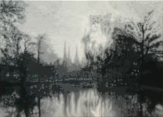"""Gail Troth - Abstract Lichfield Acrylic on Canvas 28"""" x 20"""" £695"""