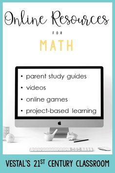 Need ideas for online learning? This educational blog post includes LOTS of virtual activities for math, ELA, science, and social studies!  #vestals21stcenturyclassroom #onlinelearning #onlineactivities #distancelearning #virtuallearning #remotelearning