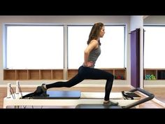 Pilates Reformer: Class Routine for Abs, Glutes & Legs - YouTube