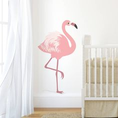 Are you interested in our flamingo wall sticker? With our nursery wall stickers you need look no further. Nursery Wall Stickers, Removable Wall Stickers, Wall Decals, Wall Art, Gold Bedroom Decor, Bedroom Themes, Nursery Decor, Baby Girl Nursery Wallpaper, Pink Flamingos Birds
