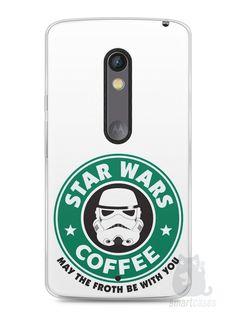 Capa Capinha Moto X Play Star Wars Coffee - SmartCases - Acessórios para celulares e tablets :)