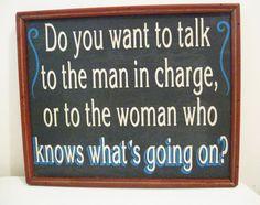 Vintage Sign Chalkboard Sign1970s Funny Sign by JunkMaster on Etsy