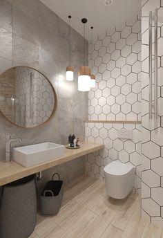 Oak Bathroom, Laundry Room Bathroom, Downstairs Bathroom, Modern Bathroom, Bathroom Design Luxury, Bathroom Design Small, Bathroom Design Inspiration, Toilet Design, Design Apartment