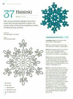 Crochet Snowflake Pattern, Crochet Stars, Crochet Motifs, Christmas Crochet Patterns, Crochet Snowflakes, Crochet Diagram, Crochet Doilies, Crochet Flowers, Crochet Stitches
