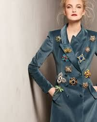 Image result for photos of brooches on jacket