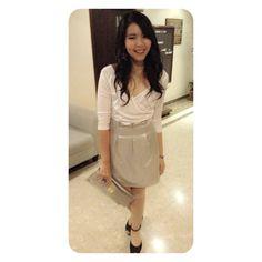 Do you Like my look ? #fashion #bridemaid #sunnaelively #bkk
