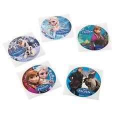 Disney's Frozen Movie Stickers - OrientalTrading.com