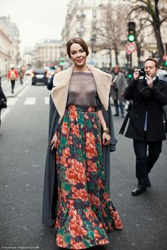 Street Style WIth a Fashion Icon ULYANA SERGEENKO