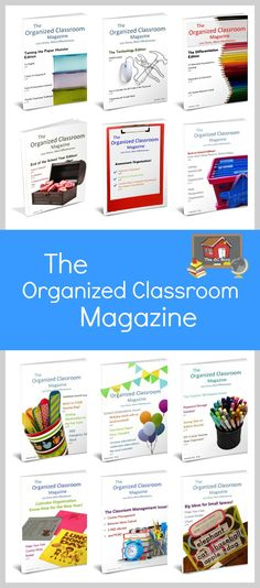 Get a whole year's worth of The Organized Classroom Magazine!  Want to check it out?  the March issue is always free!