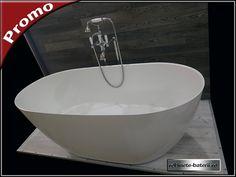 Cada de baie ovala Terrano 160 cm din compozit marmura Bathtub, Bathroom, Standing Bath, Washroom, Bathtubs, Bath Tube, Full Bath, Bath, Bathrooms
