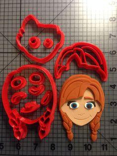Frozen - Anna Cookie Cutter Set