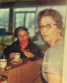 Naomi, John's wife John's Cafe  Yerington NV 1965