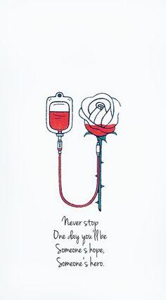 nunca pare um dia você será a esperança de alguém, o herói de alguém Medical