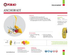 Fox 40 Anchor Kit #Fox40Marine http://www.fox40shop.com/s.nl/sc.7/category.15835/.f