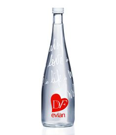 made it to lovely package! #dvf #evian