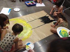 Xup-Xup creatiu d'estiu: En ple procés creatiu!