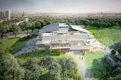 snøhetta + SANAA tie for first place in budapest museum competition