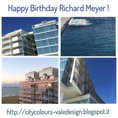 Happy Birthday Richard Meyer! http://citycolours-valedesign.blogspot.com/2016/10/happy-birthday-richard-meyer.html   #colours #arcitecture #richardmeier