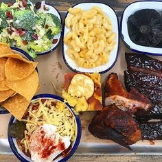 Chilli fried, Mac and cheese, broccoli salad and, of course, some of our slow cooked BBQ. Meeting Venue, Rustic Wedding Venues, Best Bbq, Broccoli Salad, Mac And Cheese, Farming, Slow Cooker, Fries, Restaurant