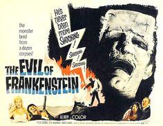 Hammer Film Posters: Frankenstein