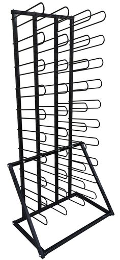 Our Vinyl Roll Floor Storage Rack is great for organizing and saving space. It holds 40 rolls of vinyl, pre-mask tape, or other media rolls. Your work space stays clean and organized while Vinyl Rolls are kept off the floor, avoiding dirt and damage. Vinyl Storage, Shop Storage, Storage Rack, Vinyl Signs, Metal Signs, Fabric Display, Craft Organization, Organizing Ideas, Vinyl Banners