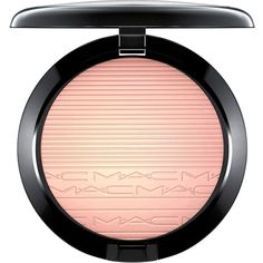 MAC Extra Dimension Highlighter, In The Spotlight Collection ($33) ❤ liked on Polyvore featuring beauty products, makeup, face makeup, face powder, beauty, beaming blush and mac cosmetics