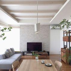 Lounge/ソファー/ナチュラル/雑貨/DIY/北欧...などのインテリア実例 - 2018-06-08 09:54:32   RoomClip (ルームクリップ) Room, Simple House, Room Design, House, Interior, Japanese Interior Design, Home Decor, House Interior, Living Room Designs