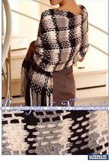 Colcha de Listra em Crochê - / Quilt Stripe Crochet - 3