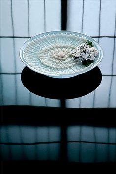 Richard Haughton - Food - Poissons - Un Art du Japon (sashimi of fugu - puffer fish)