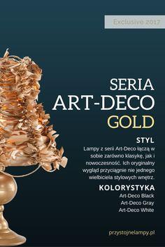 Katalog Exclusive 2017 to wyjątkowe zestawienie serii lamp, które łączą w sobie nowoczesność z elegancją.  W tym katalogu znajdziesz lampy w standardowej kolorystyce jak biel, szarość i czerń oraz krzykliwe złoto, które doda całej kolekcji wyjątkowego szyku.  Lampy dostępne na naszym sklepie www.przystojnelampy.pl