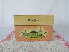 Ohio Art Recipe Box by WeBGlass on Etsy