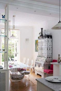 Модный дизайн интерьеров от Лулу Гиннесс. Продолжение 1