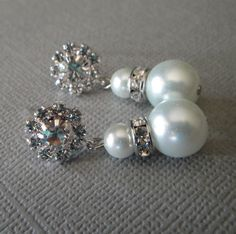 Bridal Earrings or Bridesmaid Earrings by AlexiBlackwellBridal, $25.00