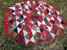 Christmas Tree Skirt Countdown to Christmas by atthebrightspot, $160.00