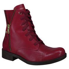 Bota Cravo e Canela Coturno 131117 - Maça (Camurça Grease) - Calçados Online Sandálias, Sapatos e Botas Femininas | Katy.com.br