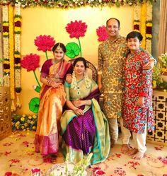 Indian Dresses For Kids, Dresses Kids Girl, Beautiful Saree, Beautiful Indian Actress, Half Saree Function, Fancy Sarees, Silk Sarees, Half Saree Designs, Blouse Designs