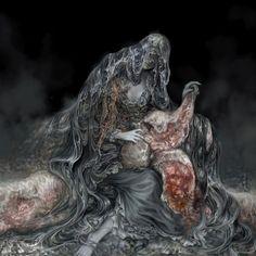 rosaria, mother of rebirth — dark souls iii design works