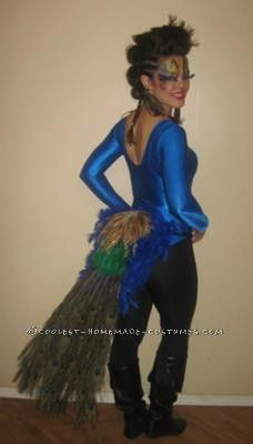Coolest Peacock Costume... This website is the Pinterest of costumes