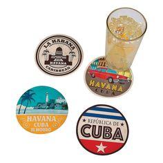 Cuban+Print+Coasters+-+OrientalTrading.com