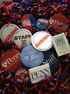 How many Penn buttons do YOU have?