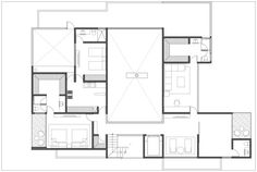 CH House,Second Floor Plan
