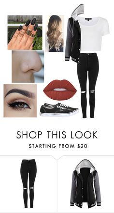 """""""Random"""" by hey-mate ❤ liked on Polyvore featuring Topshop"""