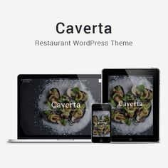 Caverta - WordPress restaurant theme with drag and drop page builder and a lot of custom page templates