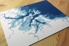 Le port de Boston 8 x 10 couches papercut art Papercut Art, Paper Design, Design Art, Origami Wall Art, Collages, Puzzle Crafts, Paper Engineering, School Art Projects, Photoshop Design