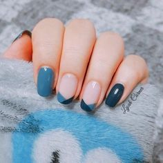 blue pink nails - - blue pink nails makeup, hair, nails, etc blau rosa Nägel Classy Nail Designs, Pretty Nail Designs, Nail Art Designs, Nails Design, Blue Nails With Design, Gel Polish Designs, Classy Nail Art, Easter Nail Designs, Easter Nail Art